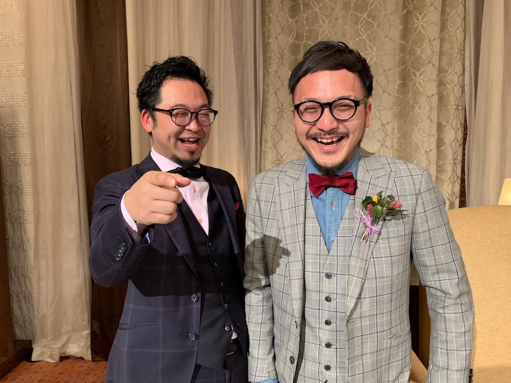 オーダースーツで結婚式を挙げよう!